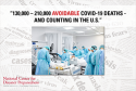 REPORT: Inadequate COVID-19 Response Likely Resulted in 130,000 – 210,000 Avoidable Deaths