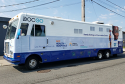 COVID-19 testing and vaccination bus